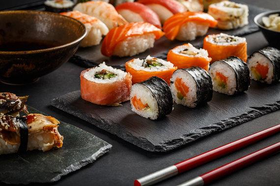 Shutterstock.com nuotr./Sushi
