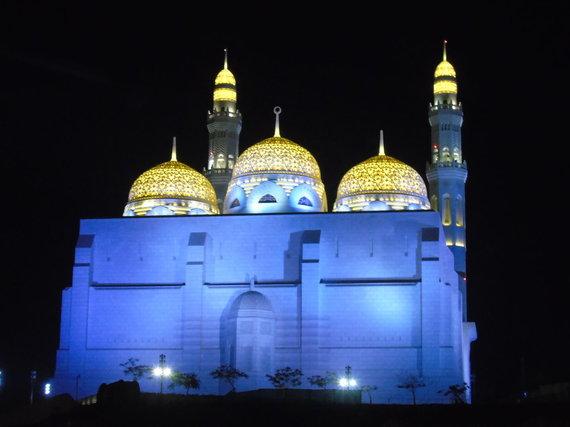 Asm.archyvo nuotr./Mohamedo Al Amyno mečetė. Maskatas
