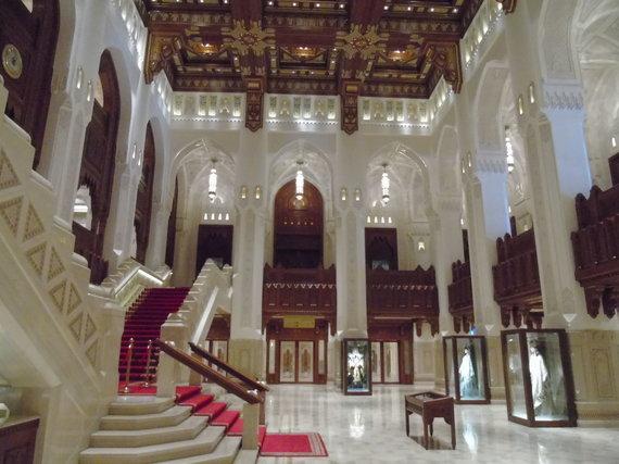 Asm.archyvo nuotr./Omano Karališkoji opera. Maskatas