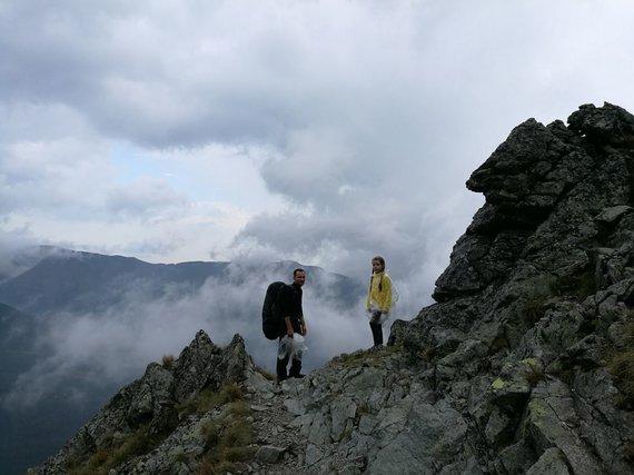 N.Motiejūno nuotr./Tarp kalnų ir debesų