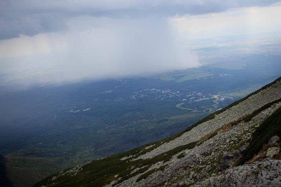 N.Motiejūno nuotr./Slėnyje lyja