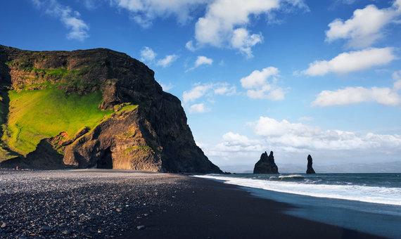 Shutterstock.com nuotr./Reynisfjara paplūdimys