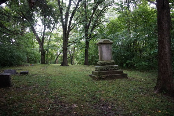 """""""Tikslas – Amerika"""" nuotr./Lietuvių laisvės kapinės Spring Valley, Ilinojaus valstijoje"""
