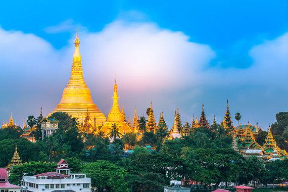 Shutterstock.com nuotr./Shwedagon pagoda
