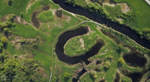 PamatykLietuvoje.lt nuotr./Nevėžio upės slėnio (senvagių) takas Krekenavos regioniniame parke