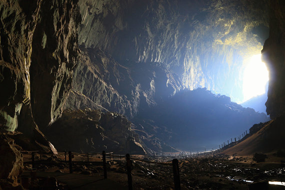 Shutterstock.com nuotr./Gunung Mulu, Malaizija