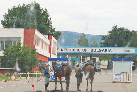Raiteliai rengiasi kirsti Serbijos-Bulgarijos sieną, Eglės Zicari nuotr.