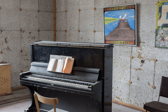 123rf.com nuotr./Piramidė – apleista sovietinė angliakasių gyvenvietė dabartinėje Norvegijoje