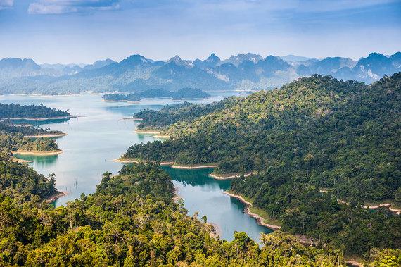Shutterstock.com nuotr./Khao Sok nacionalinis parkas