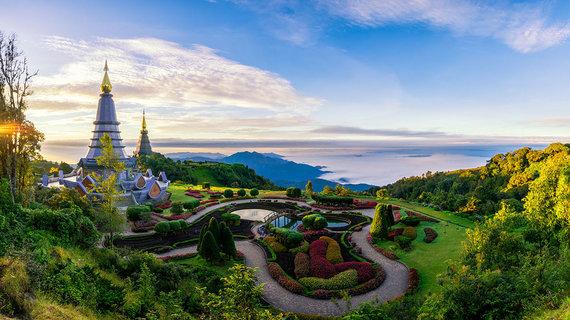 Shutterstock.com nuotr./Doi Inthanono nacionalinis parkas