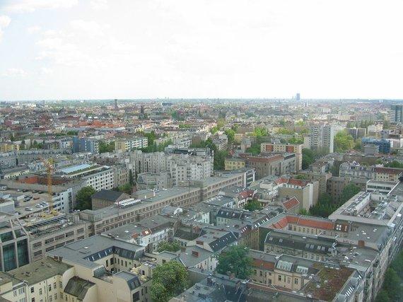 V.Mikaičio nuotr./Berlynas iš viršaus