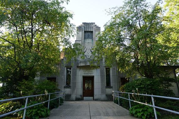 Tikslas - Amerika nuotr./Lietuvių tautinės kapinės Čikagoje