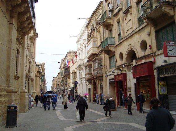 V.Mikaičio nuotr./Valetos gatvė