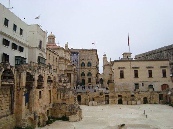 V.Mikaičio nuotr./Didžiausias Maltos miestas – Birkirkara