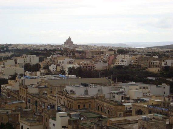 V.Mikaičio nuotr./Gozo salos kraštovaizdis