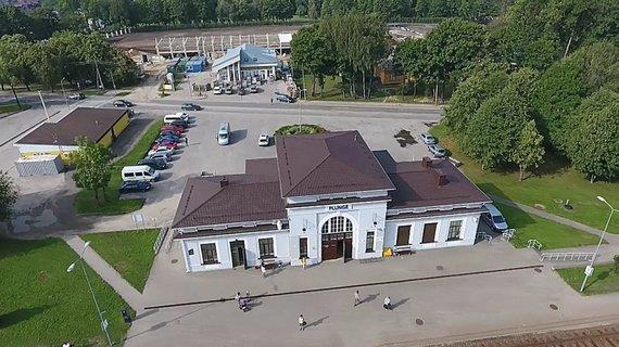 LRT laidos stop kadras/Plungė