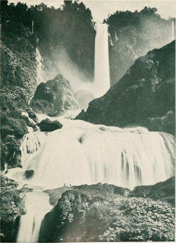 """""""Wikimedia Commons"""" nuotr./Cascata delle Marmore 1907 m."""