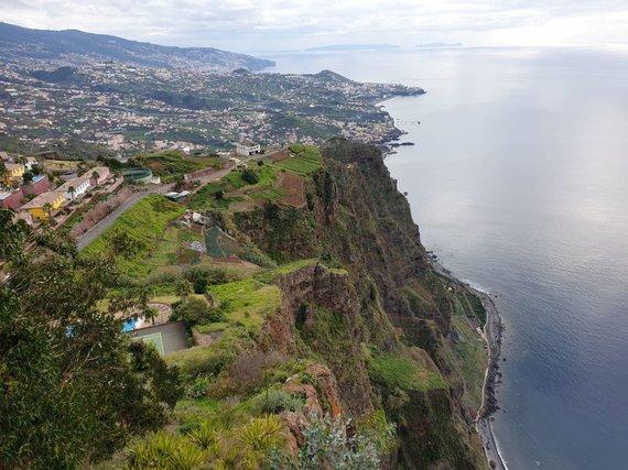 Asm.archyvo nuotr./Cabo Girao, Aukščiausias skardis Europoje
