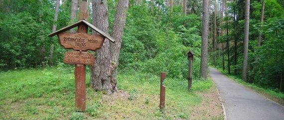 PamatykLietuvoje.lt nuotr./Žvėrinčiaus miško trasa