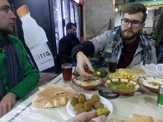 Hashem restoranas Amane (nuotr. Pijaus Girdziušo)