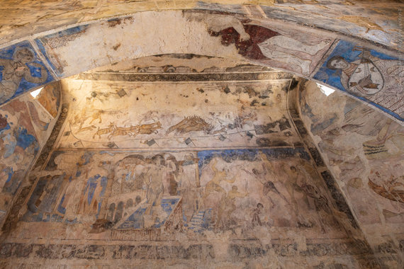 Qasr Amra ornamentai (nuotr. Giedriaus Akelio, spot-on.lt )