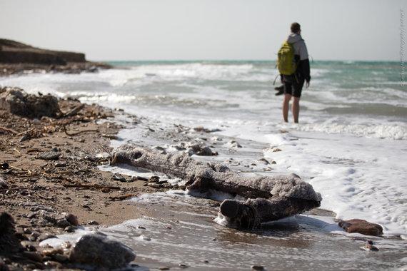 Negyvosios jūros pakrantė - laukinis krantas (nuotr. Giedriaus Akelio, spot-on.lt )