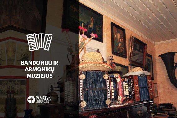 PamatykLietuvoje.lt nuotr./Bandonijų ir armonikų muziejus