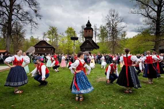 Velykos Rožnove prie Radhoštėmo. fot. Jan Kolář