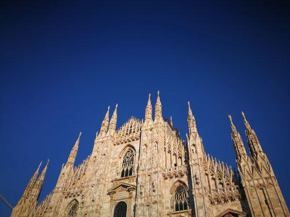 Sandros Galdikaitės nuotr./Milano katedra
