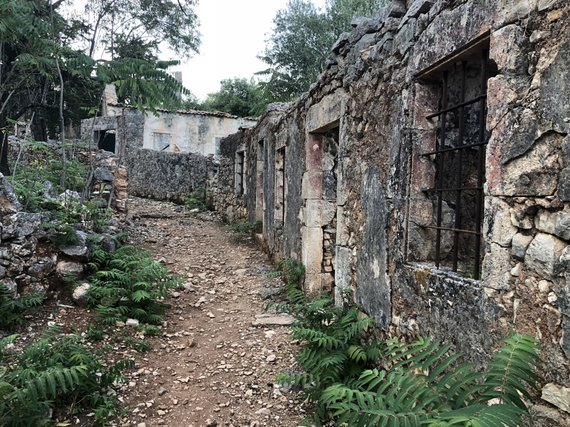 S.Galdikaitės nuotr./Žemės drebėjimo sugriautas Vlachata kaimas