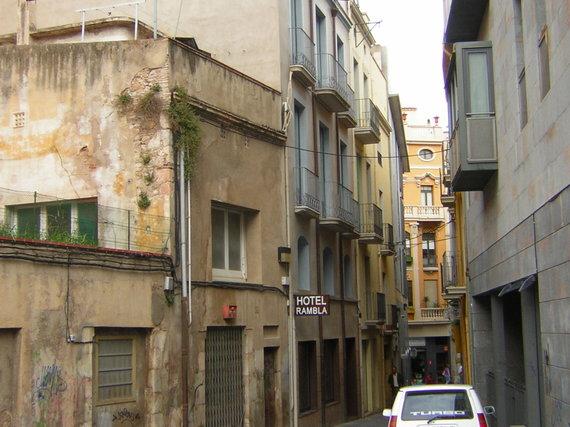 V.Mikaičio nuotr./Vaikštant po Barseloną