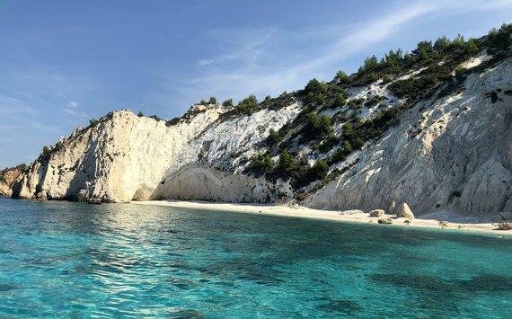 S.Galdikaitės nuotr./Paplūdimys White rocks