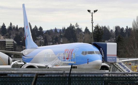 """Scanpix""/AP nuotr./TUI lėktuvas ""Boeing 737 MAX 8"""