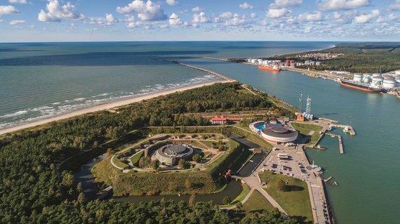 Vytauto Kandroto nuotr./Lietuvos jūrų muziejus-delfinariumas