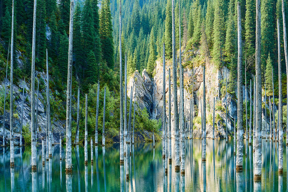 Shutterstock.com nuotr./Kajyngdiežeras, Kazachstanas