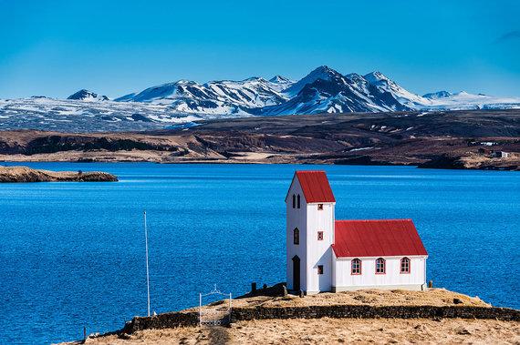 Shutterstock.com nuotr./Tingvadlavatno ežeras, Islandija