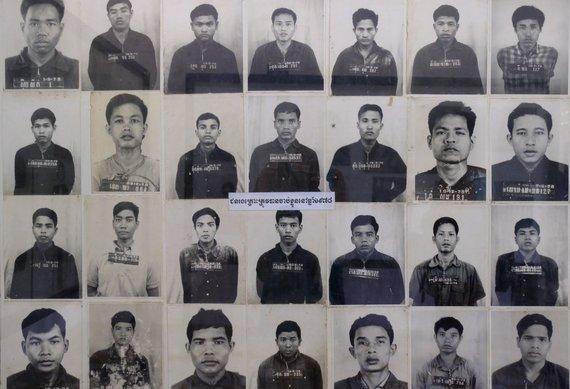 Ievos Bašarovienės nuotr./1975–1979 m. teroristinį raudonųjų khmerų režimą atskleidžia Genocido muziejus, kuriame veikė vienas žiauriausių Pnompenio kalėjimų, ir už miesto esantys Mirties laukai, kur vykdytos nekaltų Kambodžos žmonių egzekucijos