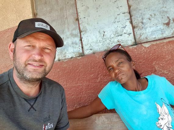 Dano Pankevičiaus nuotr./Kelionė iki Ovahakaona kaimo Namibijoje
