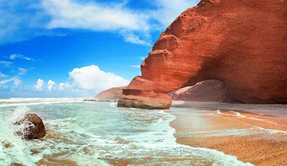 Shutterstock.com nuotr./Legziros paplūdimys, Marokas