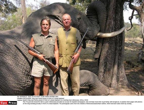 """""""Scanpix""""/""""SIPA"""" nuotr./Medžioklė Afrikoje"""