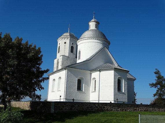 """""""Wikimedia Commons"""" nuotr./Kruonio Švč. Mergelės Marijos Angelų Karalienės bažnyčia"""