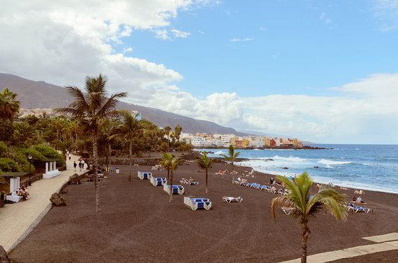 Shutterstock.com nuotr./Juodojo smėlio paplūdimys, Tenerifė