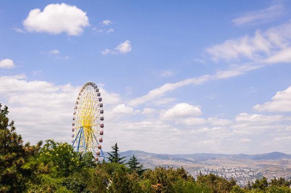Shutterstock.com nuotr./Tbilisio apžvalgos ratas
