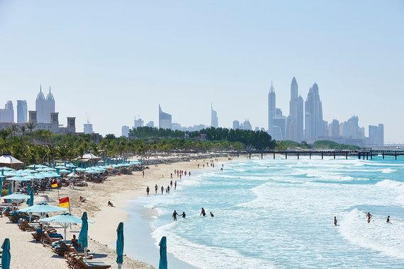 Shutterstock.com nuotr./Dubajaus paplūdimiai, Jungtiniai Arabų Emyratai