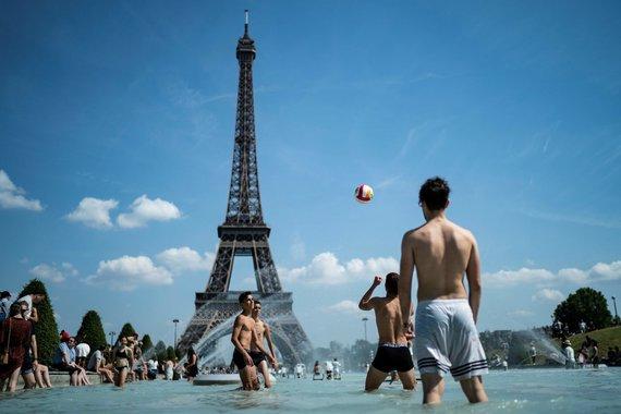 """AFP/""""Scanpix"""" nuotr./Karštis Europoje"""