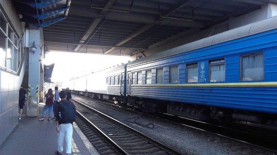 V.Mikaičio nuotr./Kijevo stotis