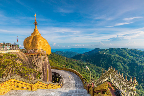 Shutterstock.com nuotr./Čiaiktijo pagoda, Mianmaras