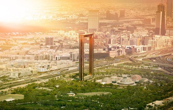 Shutterstock.com nuotr./Dubajaus rėmas, Jungtiniai Arabų Emyratai