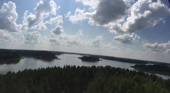 checkinlithuania.com nuotr./Sartų ežero (Baršėnų) apžvalgos bokštas