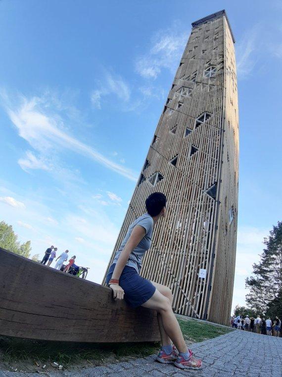 checkinlithuania.com nuotr./Birštono (Nemuno kilpų) apžvalgos bokštas